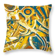 Freeway Variations Throw Pillow