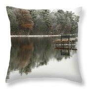 Freezing Fog Throw Pillow
