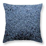Freezing Time Throw Pillow