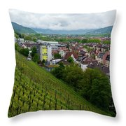 Freiburg Wine Sloop Throw Pillow