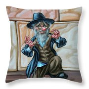 Freilahs. Op#2605 Throw Pillow