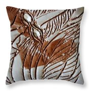 French - Tile Throw Pillow