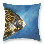 French Angel Throw Pillow
