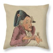 French Brandy Throw Pillow
