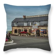 French Countryside Store Throw Pillow