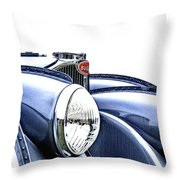 French Curves Throw Pillow