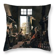 French Kitchen Throw Pillow