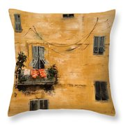 French Laundry Throw Pillow
