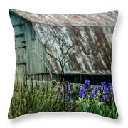 French Lick Indiana Throw Pillow