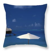 French Polynesia, Bora Bora Throw Pillow