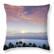French Polynesia, Papeete Throw Pillow