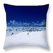 French Polynesia, Tetiaro Throw Pillow