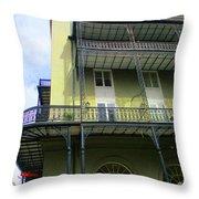 French Quarter 11 Throw Pillow