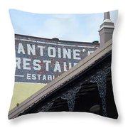 French Quarter 12 Throw Pillow