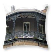 French Quarter 13 Throw Pillow