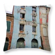 French Quarter 2 Throw Pillow