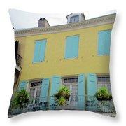 French Quarter 20 Throw Pillow