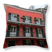 French Quarter 22 Throw Pillow