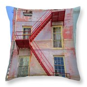 French Quarter 27 Throw Pillow