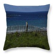 French Seashore Throw Pillow