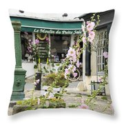 French Square Throw Pillow