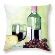 French Tradition Throw Pillow