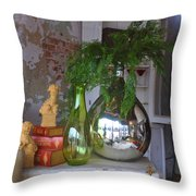 French Vases Throw Pillow