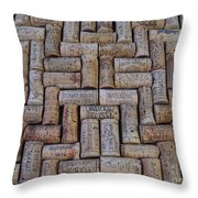 French Wines Throw Pillow
