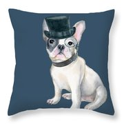 181e4193 Frenchie French Bulldog Top Hat Monocle Dogs In Clothes Digital Art ...