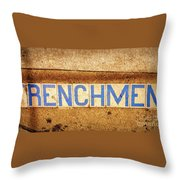 Frenchmen St. Nola Throw Pillow