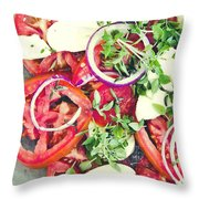 Fresh And Aromatic Throw Pillow