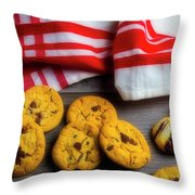 Fresh Baked Cookies Throw Pillow