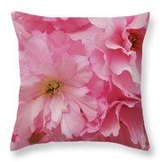 Fresh Blooms Throw Pillow