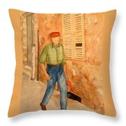 Fresh Bread In The Morning Throw Pillow
