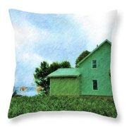 Fresh Country Air Throw Pillow