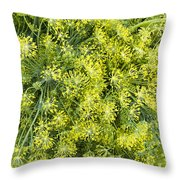 Fresh Dill Weed  Throw Pillow