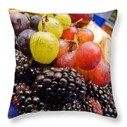 Fresh Not Frozen Throw Pillow by Jeffery Ball