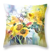 Fresh-picked Throw Pillow