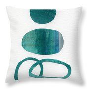 Fresh Water Throw Pillow