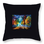 Freshness Of Cold Throw Pillow