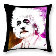 Freud In Flux Throw Pillow