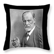 Freud Says Blame Your Mother  Throw Pillow