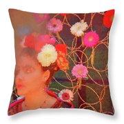 Frida Kalho Inspired Throw Pillow