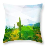 Frida Sonora Throw Pillow by MB Dallocchio