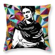 Frida Stay True Throw Pillow