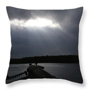 Friday Night Fish Fry Reservations Throw Pillow