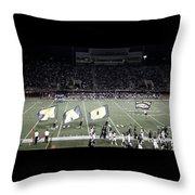 Friday Night Lights Throw Pillow