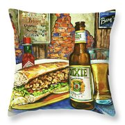 Friday Night Special Throw Pillow