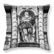 Friedrich The Wise B W Throw Pillow