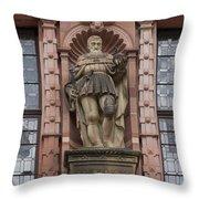 Friedrich The Wise Throw Pillow